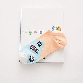 Calcetín de algodón para Mujer Calcetines de algodón Dulce para Mujer Calcetines para Mujer y Mujer Calcetines Cortos Casuales Calcetines