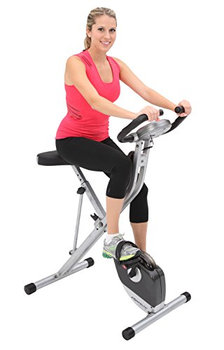 Best Exercise Bike To Lose Weight - Exerpeutic Folding Magnetic Upright Exercise Bike