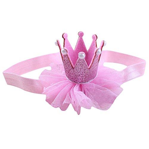 Couronne dentelle filles bébé Princesse Bandeau Hairband Chapeaux Accessoires cheveux