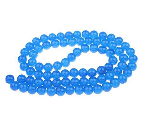 Blau Jade Perlen 4mm Kugel 80stk HALBEDELSTEIN Schmuck Design G288