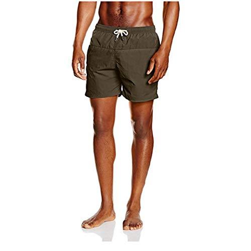 ISKER Badpak mannen Shorts 2019 Nieuwe Zomer Mens Beach Shorts Badpakken Zwemkleding Man Katoen Casual Man Shorts Sport Broek Teen