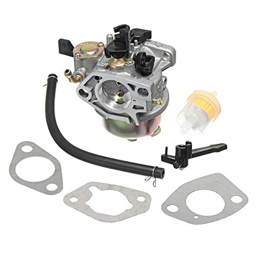 QIUXIANG Interruptor de Filtro del carburador carburador Juntas de Combustible Fit Kit for Honda GX390 13H P Motores Sustituye 16100-ZF6-V01 Gas generador y Motor Motor