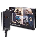 PAJ GPS Motorcycle Finder (Versión 4G)- conexión Directa a batería Externa- Localizador GPS para Coche, Moto, quads y más vehículos- Rastreador GPS en Tiempo Real- Marca Alemana