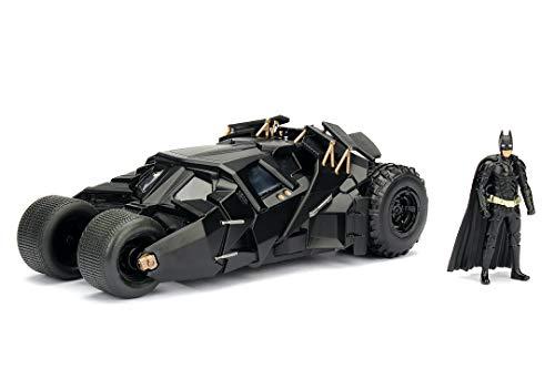 JADA TOYS 1/24スケール バットマン BATMAN バットモービル ダークナイト バットマンフィギュア付き 完成品ダイキャストミニカー JADA98261