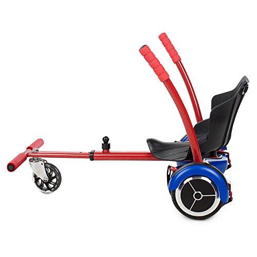 Kawasaki Hover Kart Silla para Scooter, Rojo, Talla Única: Amazon ...