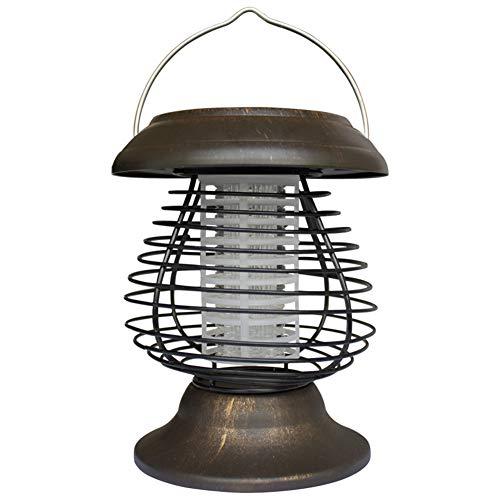 MRSGG Tragbarer tragbarer Solar-Mückenvernichter, Patio-Mückenvernichter, Mückenschutzlampe und Mückenschutz, Gartenlandschaftslampe wasserdicht, 16 * 16 * 27 cm, wasserdicht