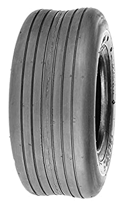 Deli Tire S-317, Straight Rib Tread, 4 Ply, NHS, Tubeless, Lawn and Garden Tire (13x5.00-6)