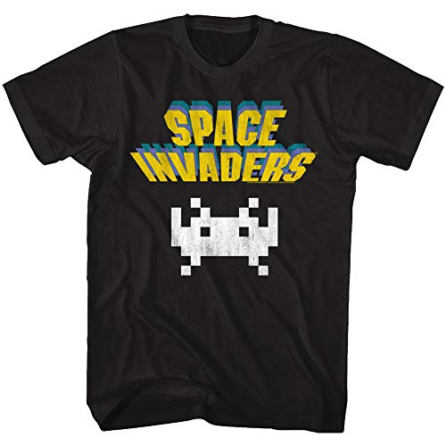 Space Invaders 1978 Classic Logo T-shirt for Men, S to 3XL