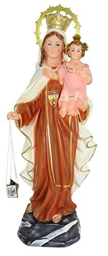 Ferrari & Arrighetti Imagen Virgen del Carmen de Yeso - 36 cm