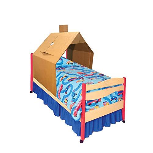 KarTent - Kartonnen Kinderbed Huis - Speelhuisje - Duurzaam Karton