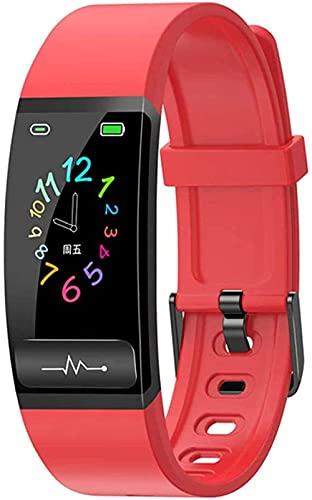 Reloj inteligente ECG reloj inteligente hombres y mujeres s presión arterial fitness pulsera inteligente monitor de ritmo cardíaco impermeable actividad Tracker-D