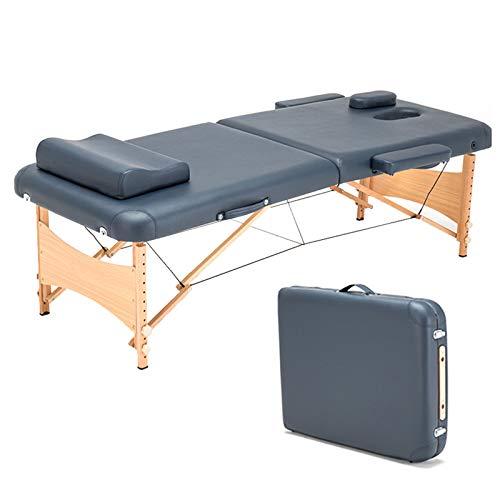 Table De Massage Multifonctionnelle Portable Pliante Réglable 2 Sections