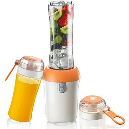 Exprimidor, nueva licuadora de jugo pequeña, batidora eléctrica portátil, batidora, taza doble adecuada para el hogar al aire libre