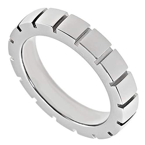 M & M Georg Plum Designer Di Anello Donna Band Ring Acciaio Inossidabile 5451r4–04, acciaio inossidabile, 15, colore: argento, cod. 5451R4-04