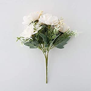 Artificial and Dried Flower Big Artificial Africa Protea Cynaroides Silk King Flowers Brahes Fake Flores for Home Decoration Wreath Plants Floral – ( Color: Style B1 )