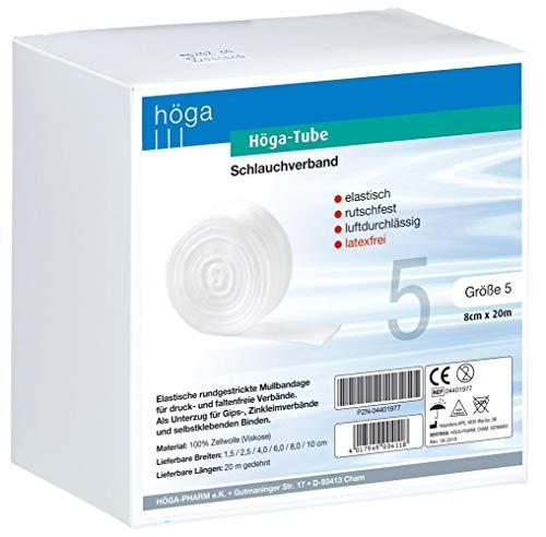 Höga-Pharm, Höga-Tube Trikotschlaufverband größe 5 - 8 cm x 20 m, 1er Pack (1 x 1 Stück)