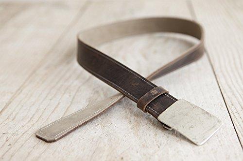 Ledergürtel, Wendegürtel, Gürtel aus echtem Leder, handgefertigt in Bayern