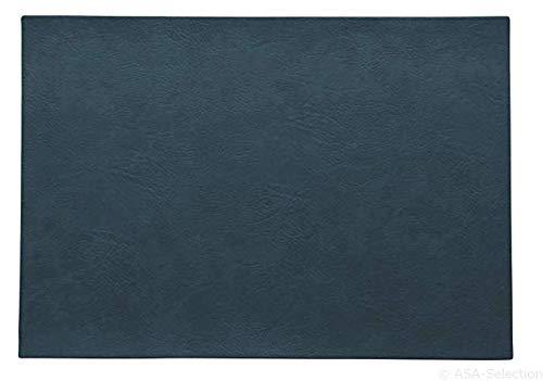 ASA 78302076 Lot de 2 sets de table en PVC 46 x 33 cm Végan leather, en polyuréthane 78302076