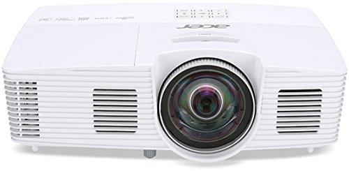 Acer S1383WHne DLP Projektor (WXGA 1280 x 800 Pixel, 3.200 ANSI Lumen, Kontrast 13.000:1, 3D, Kurzdistanz)
