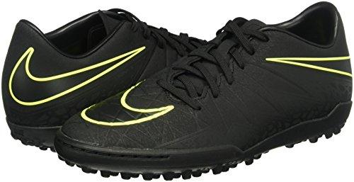 Nike Hypervenom Phelon II TF, Botas de fútbol para Hombre, Negro (Black/Black), 41 EU