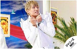 神山智洋(ジャニーズWEST) 公式生写真/ラッキィスペシャル・衣装白・目線右方向...