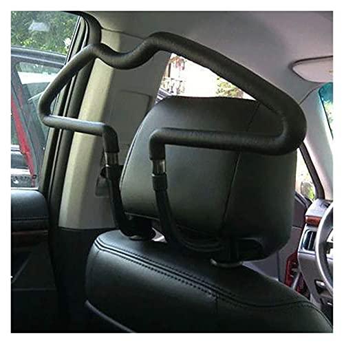 ZHANGQING QQINGZHANG Capa de Ropa Percha 450 * 250 mm Universal Soft Car Schouts Panchas Asiento Trasero Reposacabezas Cabezales Jackets Suits Holder Rack Auto Suministros