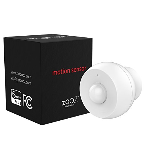 Zooz Z-Wave Plus S2 Motion Sensor ZSE18 with Magnetic Mount, Works with Vera and SmartThings