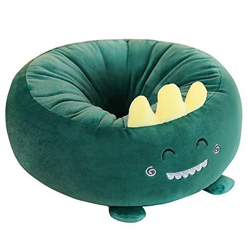 LASIMAO Cute Cartoon Seat Cushion,Pluch Comfort Seat Pad,Multi-Functional Pillow Nap Pillow Home Car Seat Cushion Chair Cushion Dinosaur Pads,K,38 * 38CM