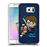 Head Case Designs Officiel Harry Potter Personnages Deathly Hallows I Coque en Gel Doux Compatible avec Samsung Galaxy S6 Edge
