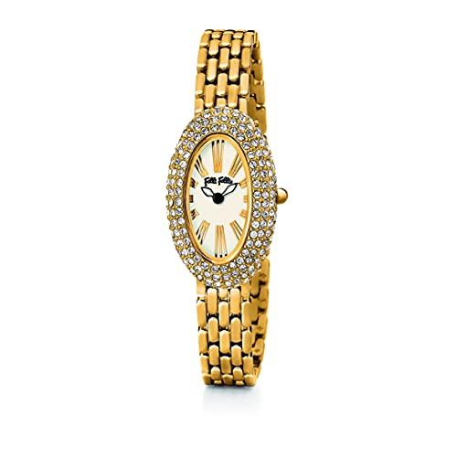 Folli Follie Reloj Análogico-Digital para Mujer de Automático con Correa en Acero Inoxidable S0355399