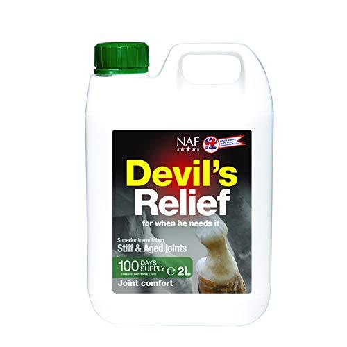natürliche Futtermittel NAF Teufeln LInderung - Durchsichtig, 2 litres