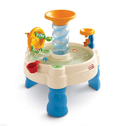 Little Tikes Spiralin' Seas Waterpark Play Table, Multicolor