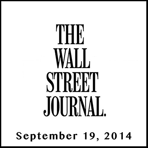 The Morning Read from The Wall Street Journal, September 19, 2014 copertina