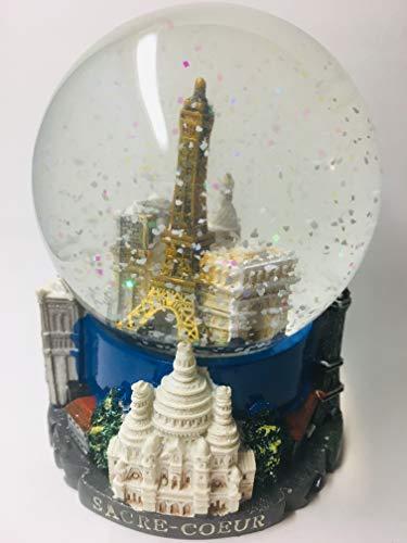 VIANAYA - Bola de nieve Paris Torre Eiffel – Base de resina...