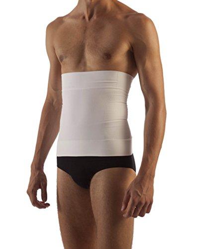 Body&Co Fascia Addominale Uomo Modellante e Contenitiva con microcapsule alla Caffeina