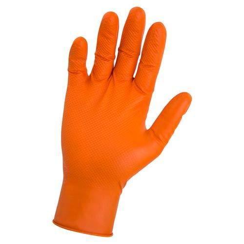 SAS Safety 66574-40 Astro-Grip Powder-Free Exam Grade Nitrile - 7 mil 40 Gloves per box