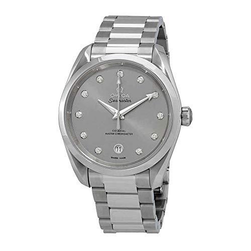 Omega Seamaster 220.10.38.20.56.001 - Reloj cronómetro automático con diamante, 38 mm