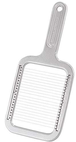 Westmark Pellkartoffel-/Mozzarellaschneider, Aluminium/Rostfreier Edelstahl, Rondex, Silber, 60802260