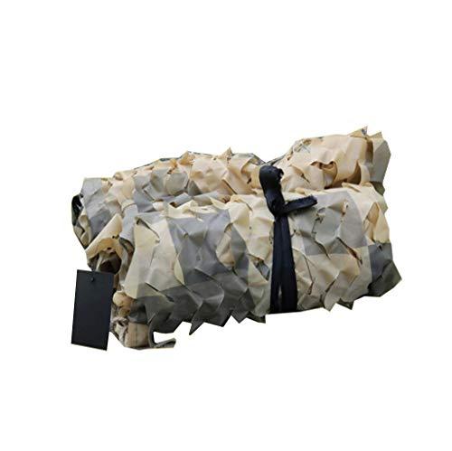 Carl Artbay luifelzeil/camo-netting, militair in elkaar grijpennet met touwen voor zonwering eend en roodwild-jaloezieën, decoratie, camping, thema-feest, CS spel hout, zonwering net