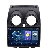 GLFDYC Android 8.1 GPS Navigation Car Stereo Radio, para Nissan Qashqai 2006-2013, 9 Pulgadas Pantalla Táctil Completa Reproductor Multimedia, Bluetooth FM Am Control del Volante,4G+WiFi:2+32G