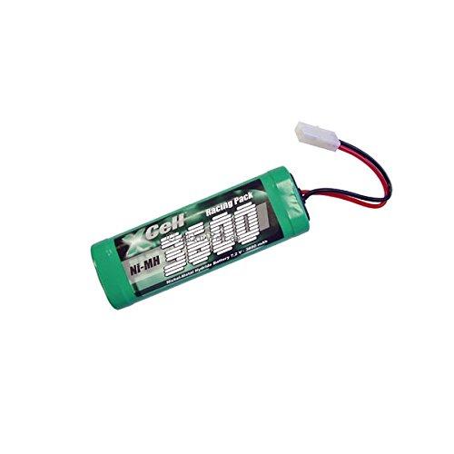 Gopacks Akku RC-3600HV 7,2V/6er Racing Pack für Challenger Dirt Crusher 8369 8675 Accu Acku Bateria Battery 3600mAh Accu Batterie Battery Bateria Akkubatterie