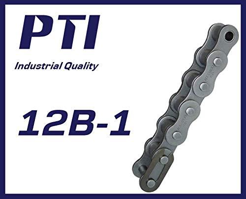 PTI Rollenkette Typ 12 B-1 (5M), zertifizierte Industriequalität, Markenware, (3/4 x 7/16'') DIN8187