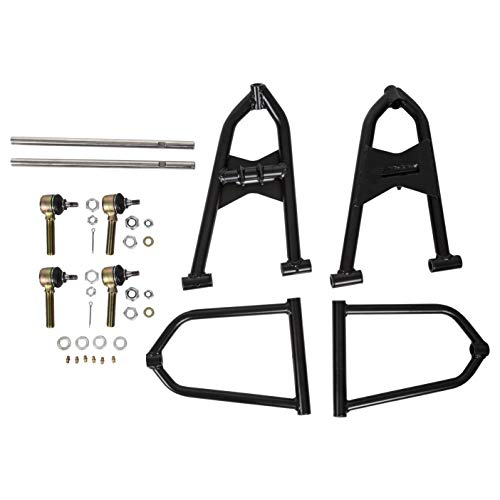 ECOTRIC Standard Adjustable Extended A Arms +2 + 1 Kit for 1991 -Up Yamaha Banshee 350