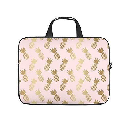 Neoprene Sleeve Laptop Handle Bag Handtas Notebook Case Cover Geel Tulp In Gestreepte Vaas Draagbare MacBook Laptop/Ultrabooks Case Bag Cover 17 Inch, 17 inch, ld7z0n7739pq-kleur27