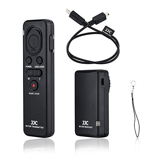 Wireless Remote Shutter Release Control Fit for Sony A6500 A6400 A6300 A6000 A1 ZV-1 A7R IV III A7S III A7 III A9 II FDR-AX33 AX100 AX700 HDR-CX405 CX440 CX455 CX900 Replace Sony RMT-VP1K RM-VPR1