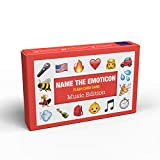 Name The Emoticon Game | Guess The Phrase Funny Emoji Flash Card Board Game - Fun Memory Game | Suitable for Family, Kids, Teenagers & Adults - Music Edition