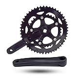 DRIFT MANIAC Bicycle Crankset 50/34T 110BCD Square Taper for Road Treking Bike 170mm Crank Arm
