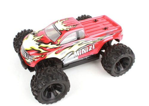 Amewi 22105 - Mini Monster Truck Realizzata in Scala 1:18, 2.4 GHz, 4WD, RTR