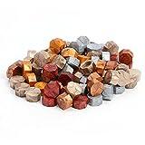 100 piezas de sellos de cera de sellado octágono sello de cera vintage sello sello de cera para sobres boda cera sello cuchara 07, Israel