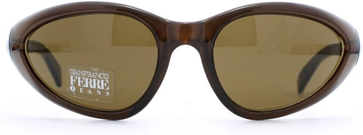 Gianfranco Ferre 9 3MD Brown Authentic Women Vintage Sunglasses